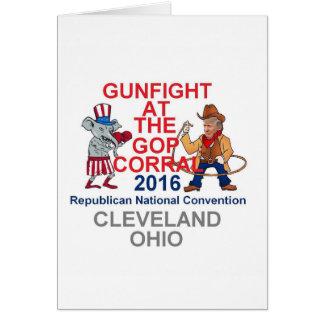 Republican 2016 Convention Card