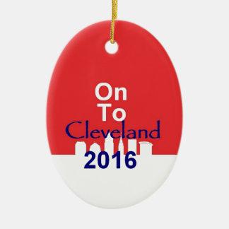 Republican 2016 Convention Ceramic Ornament