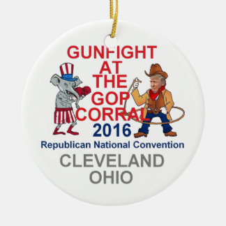Republican 2016 Convention Ceramic Ornament