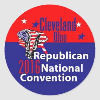 Republican 2016 Convention Classic Round Sticker