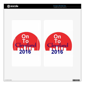 Republican 2016 Convention Decal For Kindle Fire