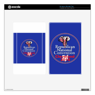 Republican 2016 Convention Decals For Kindle Fire