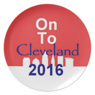 Republican 2016 Convention Dinner Plate