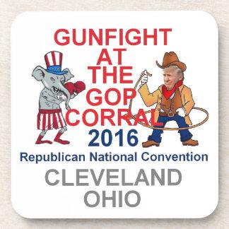 Republican 2016 Convention Drink Coaster