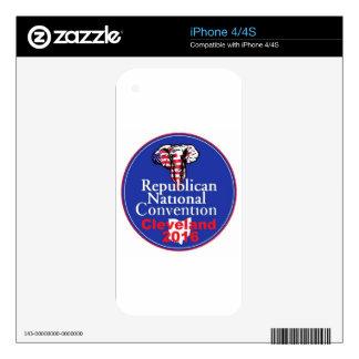 Republican 2016 Convention iPhone 4 Skin