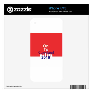 Republican 2016 Convention iPhone 4S Decal