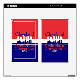 Republican 2016 Convention Kindle Fire Decal