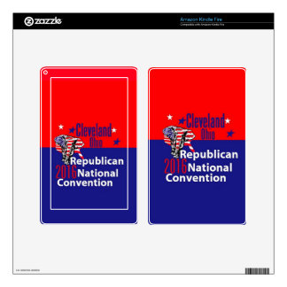 Republican 2016 Convention Kindle Fire Decals