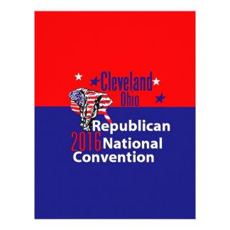 Republican 2016 Convention Letterhead