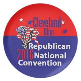 Republican 2016 Convention Melamine Plate