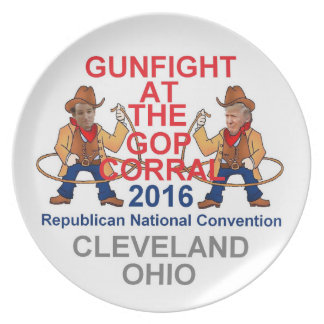 Republican 2016 Convention Melamine Plate
