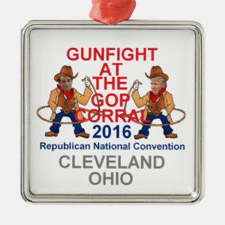 Republican 2016 Convention Metal Ornament