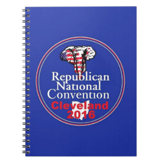 Republican 2016 Convention Spiral Note Book