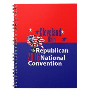 Republican 2016 Convention Note Books