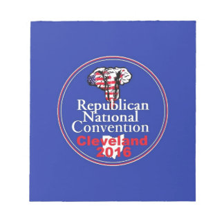 Republican 2016 Convention Notepad