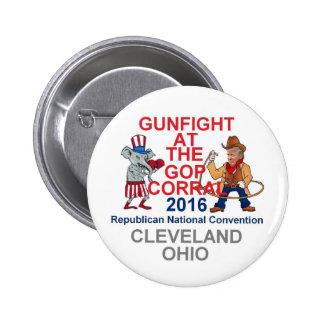Republican 2016 Convention Pinback Button