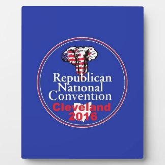 Republican 2016 Convention Plaque