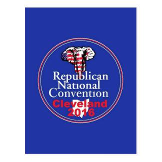 Republican 2016 Convention Postcard