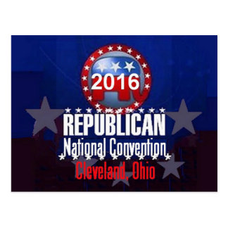 Republican 2016 Convention Postcard