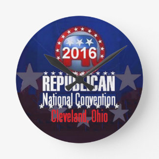 Republican 2016 Convention Round Clock