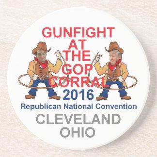 Republican 2016 Convention Sandstone Coaster