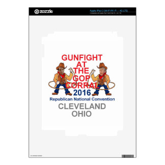 Republican 2016 Convention Skin For iPad 3
