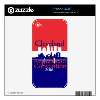 Republican 2016 Convention Skin For The iPhone 4S