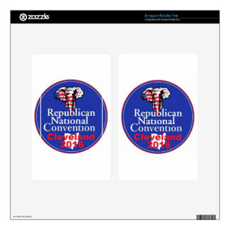 Republican 2016 Convention Skins For Kindle Fire