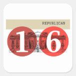 Republican 2016 stickers
