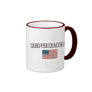 Republican American Flag Coffee Mug