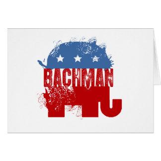 REPUBLICAN BACHMAN GREETING CARD