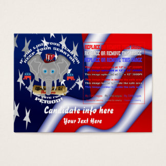 Republican Business-Blog Card Different  design