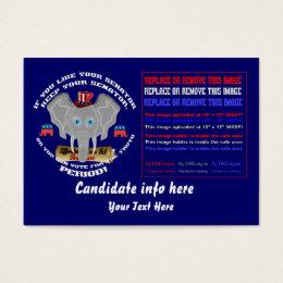 Republican Business-Blog Card Different  design