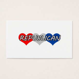 Republican Business Card