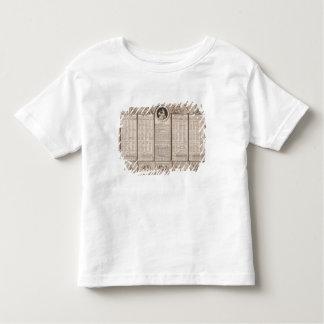 Republican calendar, 1794 toddler t-shirt