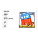 Republican Campaign Business Cards
