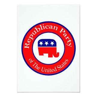 Republican Campaign Card