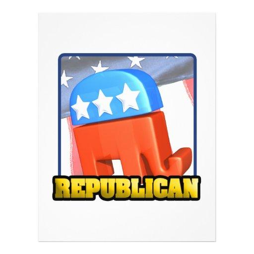 Republican Campaign Flyers