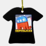 Republican Campaign Ornament