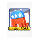 Republican Campaign Personalized Invites