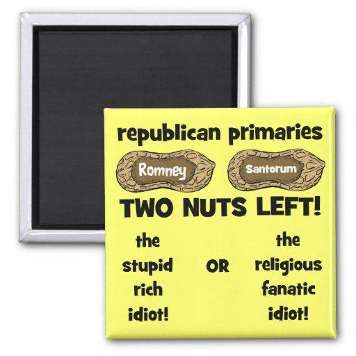 republican candidates refrigerator magnet