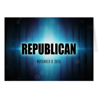 Republican Greeting Card