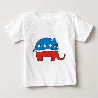 Republican cartoon elephant baby T-Shirt
