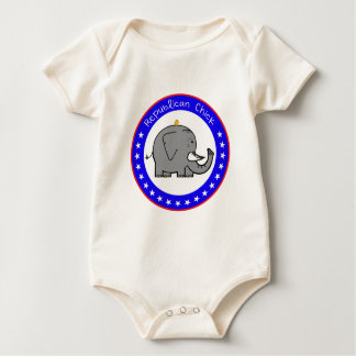 republican chick baby bodysuit