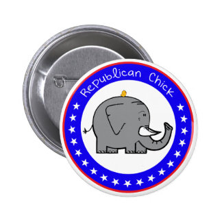 republican chick button