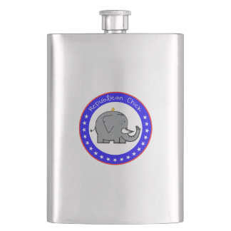 republican chick flask