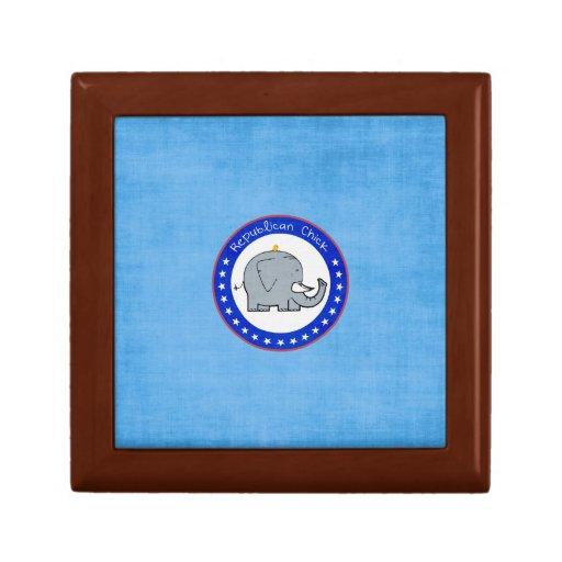 republican chick gift box