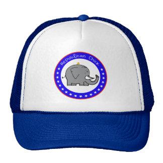 republican chick trucker hat