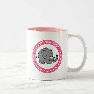 republican chick mug