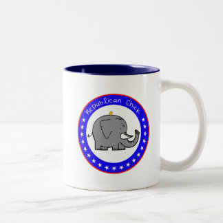 republican chick mug